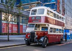 DSC-0323 LR (willielove754) Tags: lothianbuses opendoorsday heritagefleetrunningday daimler cvg6 1949 ect 135 fsc182 edinburgh corporation transport