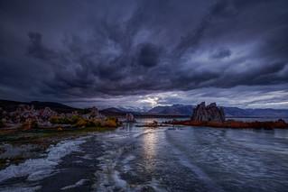 Blue Hour at Mono Lake Last Friday