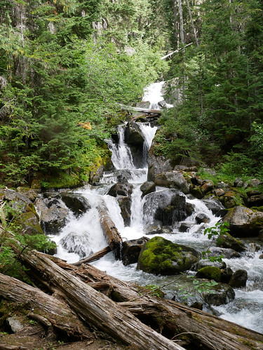 Upper 19 Mile Creek trail - falls