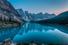 Moraine Lake Sunset (claytondodge9) Tags: sunset rockymountains morainelake canon1635f4 canon6d canadianrockies banffnationalpark alberta canada mountains mountainlake landscapes lake