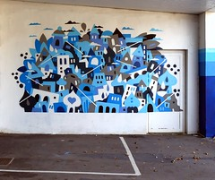 Grems (Thethe35400) Tags: colorama colorama2017 tag graffiti grafiti graffitis grafit grafite streetart pochoir graff street art artderue arteurbano arturbain arturbà arteurbana urbanart plantilla stencil muralisme schablone stampino mural calle bleu blu azul