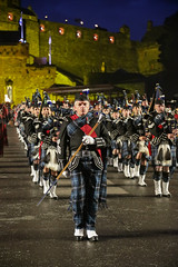 Tattoo 2nd Visit-40 (Philip Gillespie) Tags: 2017 edinburgh international military tattoo splash tartan scotland city castle canon 5dsr crowds people boys girls men women dancing music display pipes bagpipes drums fireworks costumes color colour flags crowd lighting esplanade mass smoke steam ramparts young old cityscape night sky clouds yellow blue oarange purple red green lights guns helicopter band orchestra singers rain umbrella shadows army navy raf airmen sailors soldiers india france australia battle reflections japan fire flames celtic clans
