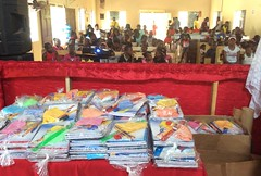BACK TO SCHOOL TREAT STAGED FOR CHILDREN IN KITSON TOWN, ST. CATHERINE