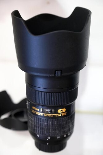 24-70mm Nikon Camera Lens ($756.00)
