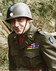 Lt. Colonel Ferdinand J. Chesarek 1945 (bobchesarek) Tags: chesarek usarmy army wwii germany helmet medals shoulderholster artillery 8thinfantrydivision pattonsarmy 28thfieldartillery eto military