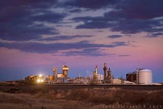 Dusk West of Cheyenne