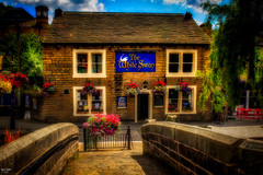The White Swan (Kev Walker ¦ Trying to Catch Up!) Tags: architecture canon1855mm canon700d digitalart hdr hebdenbridge lancashire northwest