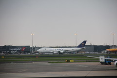 Saudi Arabian Airlines Cargo Boeing 747-400 freight TC-ACM , Schiphol airport 03.09.2017 (szogun000) Tags: amsterdam netherlands nederland aviation airport schiphol ams eham aircraft airplane plane jet jetliner airliner passenger boeing b747 boeing747 boeing747400 cargo freight jumbo jumbojet saudiarabianairlines saudiarabianairlinescargo tcacm noordholland northholland canon canoneos550d canonefs18135mmf3556is