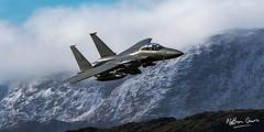 USAF Boeing F-15E Strike Eagle 01-2004 low level at Thirlmere (NDSD) Tags: low level boeing f15e strike eagle usaf thirlmere cumbria flying jet raf lake district plane aviation war machine top gun lakenheath snow landscape