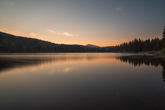 Lake Irwin, Colorado (mclcbooks) Tags: sunrise dawn morning daybreak longexposure le lake pond reflections mountains trees lakeirwin keblerpass colorado landscape
