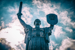 Motherland (tagois) Tags: kiev київ україна ukraine kyiv батьківщинамати soviet themotherlandmonument