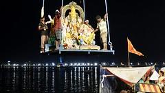 Ganesh Visarjan - 2017 01 (Rajesh_India) Tags: ganeshfestival hussainsagarlake hyderabad immersion