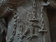 ca. 1345-1350 - 'knight, probably Werner Falk(e) (Falcke) von Munsweiler (+after 1333)', Église Notre-Dame de l'Assomption, Rouffach, dép. Haut-Rhin, France (RO EL (Roel Renmans)) Tags: 1330 1340 1345 1350 knight ritter ridder chevalier caballero cavaliere werner falk falke falcke rouffach elzas alsace elzass church église kirche kerk iglesia armor armure armour harnas harnisch rüstung armadura armatura bascinet bacinet camail aventail coatofplates plattenrock hauberk kettenhemd cotte de mailles vervelles heaume great helm helmet topfhelm gran yelmo poleyn surcotte surcoat wappenrock waffenkleid waffenrock mamelieres chain ketten sword dagger notre dame l assomption tomb effigy tombeau grabmal efigie grafbeeld falcon