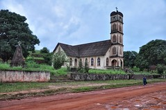 Church on outskirts of Harper