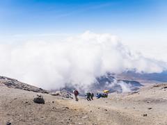 Almost.  There. (RoamingTogether) Tags: africa hiking kilimanjaronationalpark mountkilimanjaro nationalpark nemesmeela panasonic panasonic1442powerois panasoniclumixdmcgf3 stellapoint tanzania
