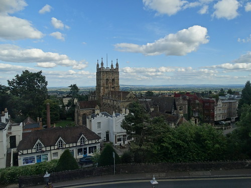 Great Malvern - View from hotel room