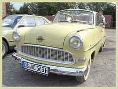 Opel Olympia Rekord Cabrio-Limousine, 1956 (v8dub) Tags: opel olympia rekord cabrio limousine 1956 allemagne deutschland germany german gm niedersachsen cloppenburg pkw voiture car wagen worldcars auto automobile automotive old oldtimer oldcar klassik classic collector
