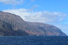 Na Pali Coast, Kauai, Hawaii (Baptiste L) Tags: napalicoast kauai hawaii cliff
