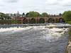 Dumfries - River Nith Wier 170723 (maljoe) Tags: rivernith nith dumfries