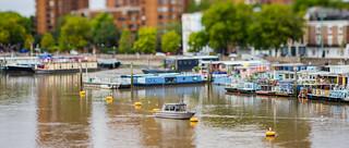 Tilted Thames.