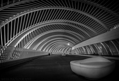Loungin... (tshabazzphotography) Tags: lines leadinglines angles longexposurephotography canon seat solo blackandwhite bw monochrome artistic creativephoto emptychair alone private shadows contrastbeauty contrast architecture geometry geometric road path
