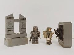 """Prepare"" (eamonnali2) Tags: brickaffliction brickarms brickforge loaded team new all custom legocustom microsoft xbox gotham marvel crate ammo marine spartan legohalo starwars halo lego"