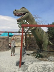 IMG_0303 (vxla) Tags: 2017 2010s vxla california travel summer september westcoast iphone losangeles cabazondinosaurs claudebellsdinosaurs riversidecounty dinosaur park palmsprings statue sculpture