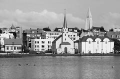 Reykjavik (JOAO DE BARROS) Tags: iceland joão barros reykjavik monochrome