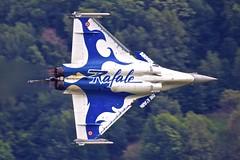 LSGS/SIR: BreitlingSionAirShow - ArmeeDeL'Air / Dassault Rafale C 4-GL133 (Roland C.) Tags: lsgs sir breitling breitlingairshow dassault rafale airport switzerland valais airplane aircraft frezzetricolari italyairforce