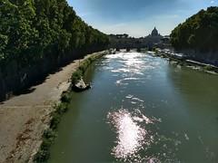 IMG_20170813_172545845_HDR (paoloserra) Tags: roma tevere sanpietro rome tiber fiume acqua water landscape paesaggio refletion riflessi cielo sky allfreepicturesmay2018challenge
