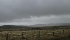 pluie et vent sur l'Aubrac (b.four) Tags: pioggia rain pluie meadow prato pré clôture recinzione fence malbouzon aubrac lozère ruby3