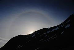Morning over Smørskredtindane (DoctorMP) Tags: norwegia norway norge moreogromsdal mountains summer lato góry sunmorealpene sunmore sun halo