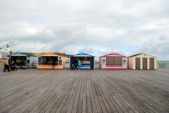 Hastings Huts on the Pier (zawtowers) Tags: hastings east sussex seaside town resort historic 1066 centre saturday 30th september 2017 warm sunny sunshine hastingspier pier iconic landmark pieroftheyear2017 award winner built 1872 reopened 2016 beach huts selling goods