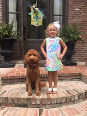 Shelby's Annie with her adorable big sister!