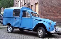 Citroën 2CV AK400 1977 (XBXG) Tags: 46yb83 citroën 2cv ak400 1977 citroën2cv 2pk deuche deudeuche eend geit 2cv6 besteleend ak 400 van utilitaire bestel wagen bestelwagen bestelbus fourgonnette blue bleu amsterdam nederland holland netherlands paysbas vintage old classic french car auto automobile voiture ancienne française vehicle outdoor