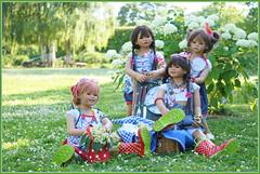 Kindergartenkinder ... (Kindergartenkinder) Tags: dolls himstedt annette park blume garten kindergartenkinder essen grugapark personen blumen sanrike milina sommer kindra setina