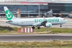 F-GZHE Barcelona 6 June 2017 (ACW367) Tags: fgzhe boeing 737800 transaviafrance barcelona