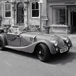 Morgan tourer parked in Stow on the Wold thumbnail