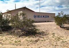 HANJIN on my mind... 20170222_8648 (listorama) Tags: maricopa arizona usa triking container shippingcontainer hanjin bankruptcy