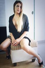 Juegos de seducción (jorgeluis.tenicela) Tags: miradas deseo sexy pasion mujer fatale lujuria desnuda artistico pensativa