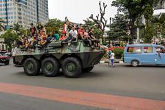 Merdeka (hastuwi) Tags: merdeka indonesia independenceday abri tni rakyat military street streephotography militer panser panzer people
