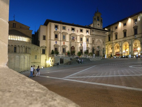 Piazza Grande by night