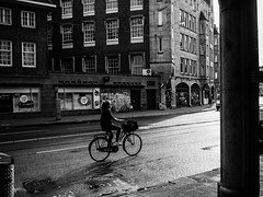 A'dam girl (Daniele Salutari) Tags: photo photography shot wow amazing cool great good dannyboy ilovedannyboy daniele amsterdam black white travel summer street streetphotography