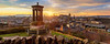 2017 Reworked Panorama: Edinburgh (MilesGrayPhotography (AnimalsBeforeHumans)) Tags: architecture auldreekie autostitch britain balmoralclocktower balmoral canon canon6d city cityscape castle canoneos6d ef24105mm 24105 ef24105mmf4lisusm dusk edinburgh eos ef europe evening edinburghcastle f4l glow historic iconic landscape lens memorial dugaldstewartmonument nd outdoors oldtown photography photo panorama panoramic pano ptgui rocks royalmile scotland skyline sky scenic sunset sunshine sunburst sunlight town twilight uk unitedkingdom volcano volcanic winter