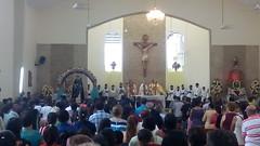El rector del seminario, Aitor Uribelarrea, preside la Misa mayor de la fiesta de San Jacinto - Buena Fe