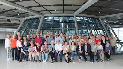 In Berlin habe ich eine Gruppe von ehrenamtlich Engagierten aus der Heimat begrüßt.