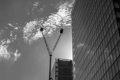 Victoire (pi3rreo) Tags: noiretblanc black white extérieur fujifilm fujinon france formes fenêtres façade françois mitterrand bibliothèque ciel sky building immeuble nuages clouds paris parvis lignes urban urbain ville city