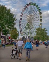It's a Great Big Wheel (TwinCitiesSeen) Tags: saintpaul falconheights minnesota twincities minnesotastatefair statefair fair greatbigwheel ferriswheel canon6d tamron2875mm