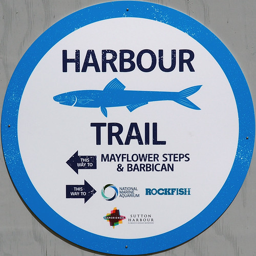 Harbour Trail sign