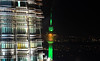 Height by Night (littlestschnauzer) Tags: kl kuala lumpur menara petronas twin towers night dark evening darkness illuminated high tall 2017 malaysia lights nightime view levels